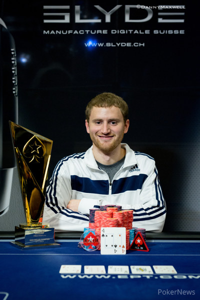 David Peters EPT Malta €10,000 High Roller Winner 2015