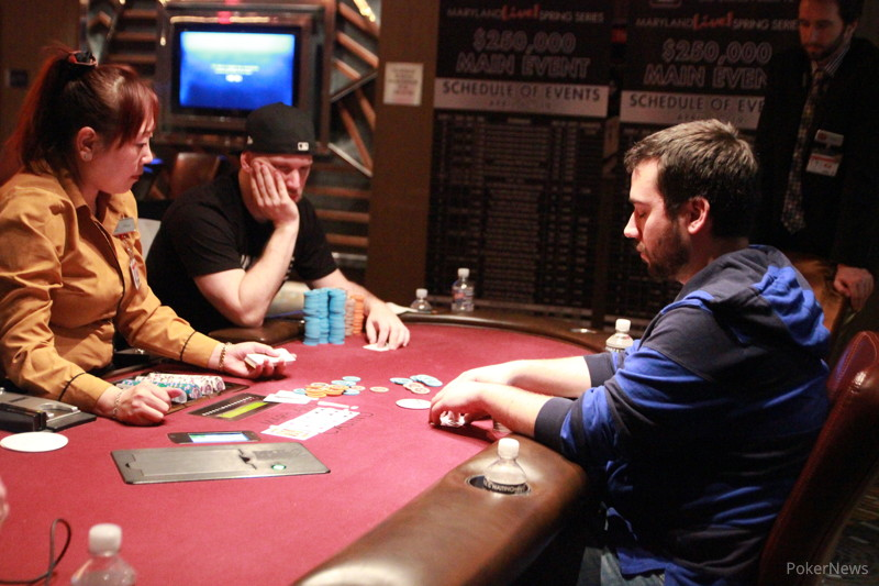 Greg Himmelbrand   1st Place Greg Himmelbrand (left) And Justin Liberto  Play Heads Up.