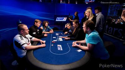 Piotr Franczak bubbles the PokerStars and Monte-Carlo® Casino EPT Grand Final Super High Roller