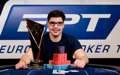 Mustapha Kanit - PokerStars and Monte-Carlo® Casino EPT Grand Final 2015 €50,000 Super High Roller Winner