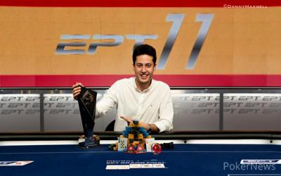 Adrian Mateos - PokerStars and Monte-Carlo® Casino EPT Grand Final Main Event Winner 2015