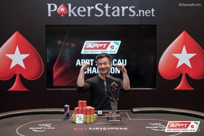 2015 APPT Macau Champion - Yat Wai Cheng