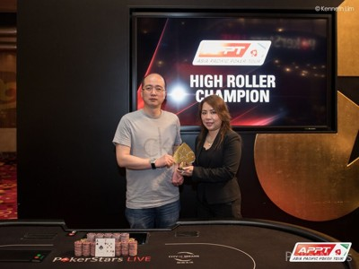 Liang Yu is the APPT9 Macau High Roller champion