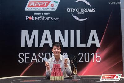 APPT9 Manila champion Aaron Lim