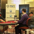 Jon Maras and Alan Curl play heads up.