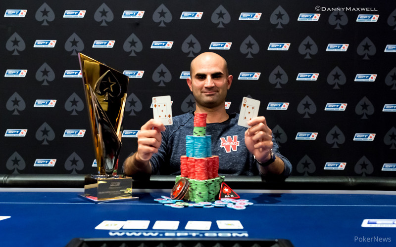 Sylvain Loosli - EPT Barcelona 2015 €50,000 Super High Roller Winner