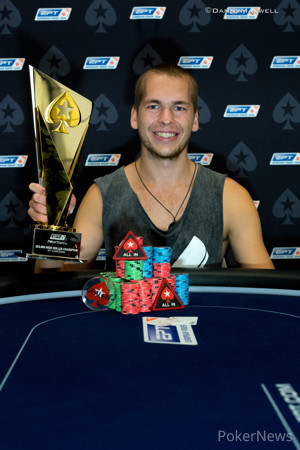 Martin Finger - 2015 EPT Barcelona €25,000 Special High Roller Winner