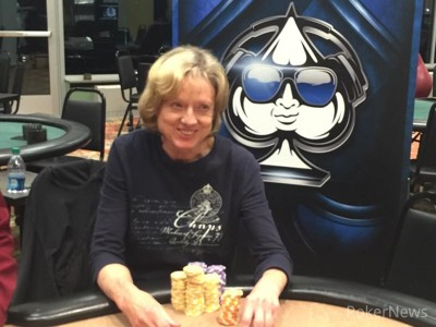 Nancy Anderson - Day 1a Chip Leader