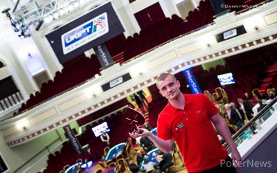 Daniel Stacey - UKIPT isle of Man Main Event Winner 2015