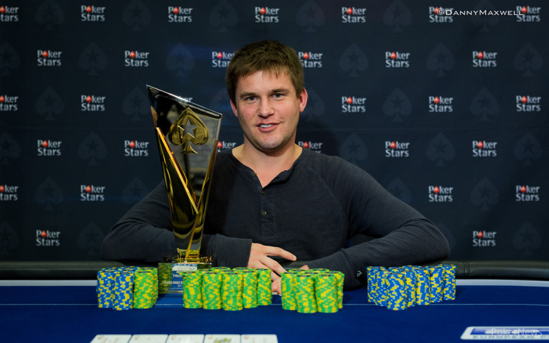 Byron Kaverman - EPT 12 Malta High Roller Winner 2015