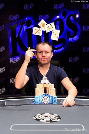 Vasili Firsau win the PLO High Roller event