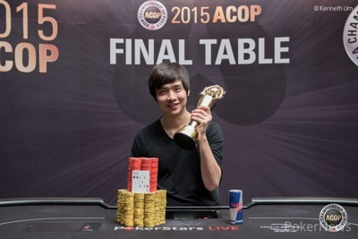 "ACOP Main Event Champ - ""Jimmy"" Zhou Zhou"