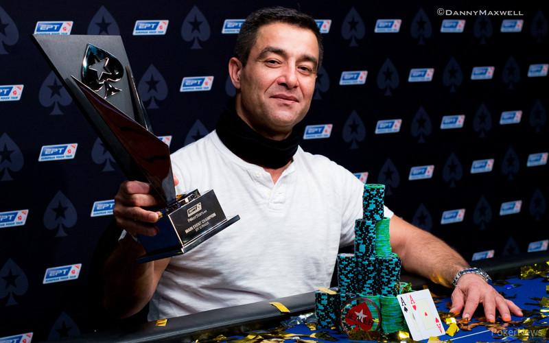 Hossein Ensan - EPT Prague Main Event Winner 2015