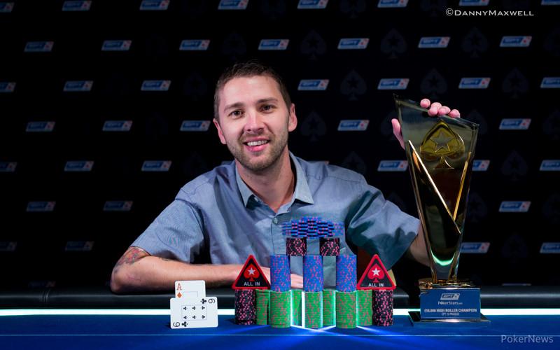 Kenneth Smaron - EPT 12 Prague €10,300 High Roller Winner 2015