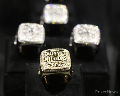 Aussie Millions Rings