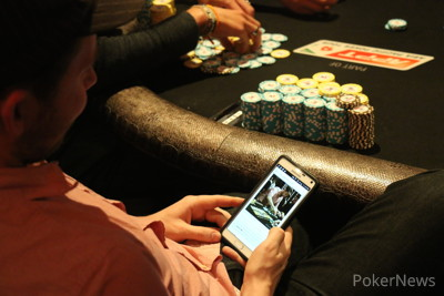 Following the action on Pokernews