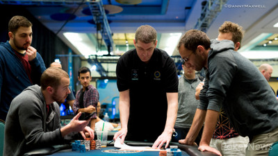 Tournament Director Nick O'Hara talks numbers with Sean Winter - Nick Maimone