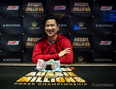 28-Year-Old British Pro Defeats Record Field of 800 Entries To Win $1,458,198 AUD