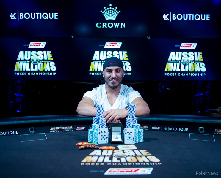 Mohammed Afiouni Wins Event #15