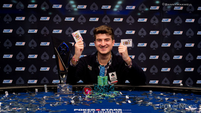 Dzmitry Urbanovich - EPT 12 Dublin €5,300 Main Event Winner