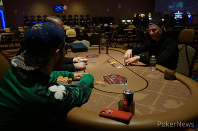 Cory Bogert and Jeremy Scharf Heads Up