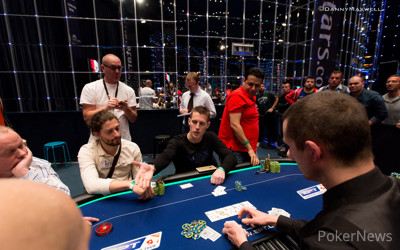 Mike McDonald bubbles EPT 12 €100,000 Super High Roller