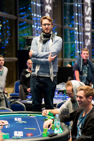 Max Silver bubbles the EPT 12 Grand Final €50,000 Single-Day Super High Roller