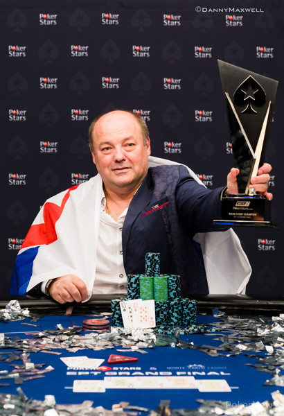 Jan Bendik - EPT 12 Grand Final Main Event Winner 2016