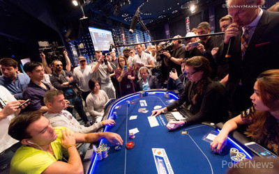 Jinfeng Huo bubbles EPT 12  Grand Final €5,300 Main Event