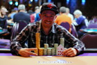 Shawn Meegan is the Mega Stack Champion for $24,289