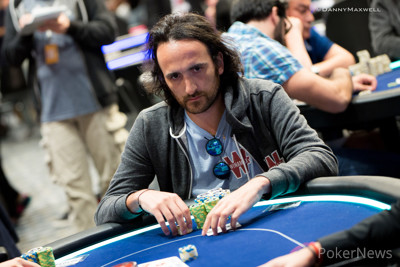 Davidi Kitai in the €50,000 Super High Roller