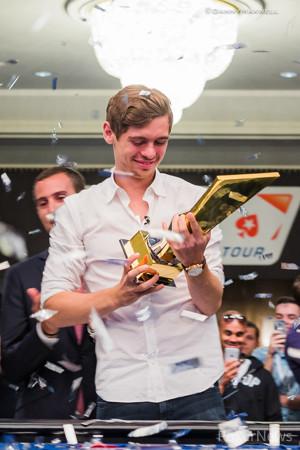 Fedor Holz - EPT 13 Barcelona €50,000 Super High Roller Winner