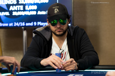 Murad Akhundov in the €25,000 Single-Day High Roller