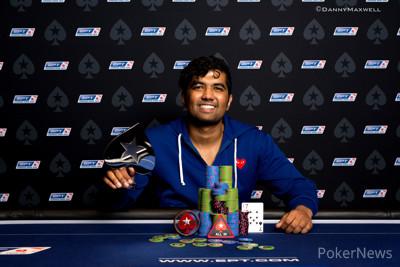 Pratyush Buddiga - EPT 13 Barcelona €25,500 Single-Day High Roller Winner