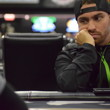 Jason Mandinici-Turcot, the short stack, watches the two big stacks tangle