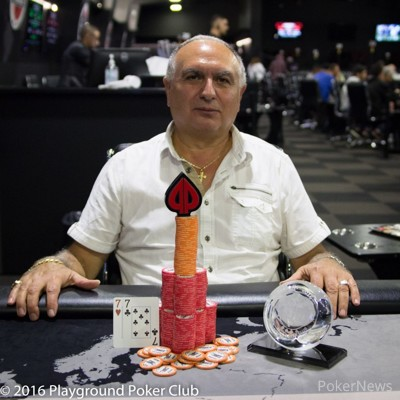 Event #4 Champion Francesco Maltese