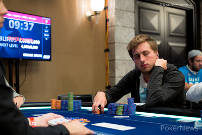 Julian Stuer is looking to better his 8th place finish in the €50,000 Super High Roller