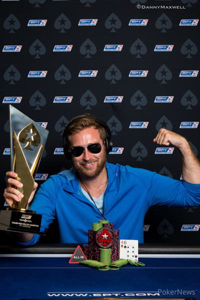 Connor Drinan - EPT 13 Barcelona €10,300 High Roller Winner
