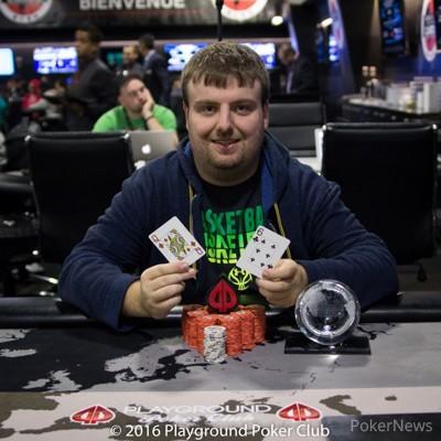 Event #8 Champion Shawn Daigle ($2,111)