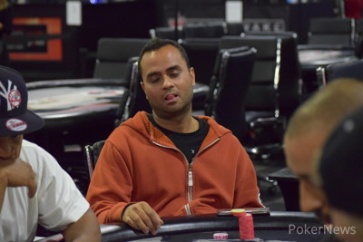 Charan Malhotra Eliminated in 5th Place ($1,710)