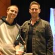 Ryan Van Sanford and PokerNews Chief Creative Office Matthew Parvis