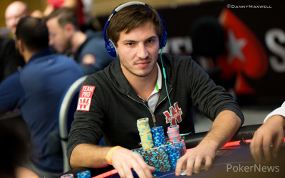 Guillaume Diaz leads after Day 2