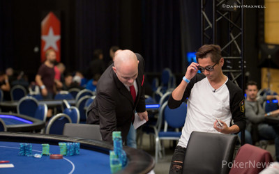 Xixiang Luo Eliminated in 8th Place
