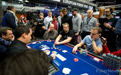 Attila Valentai bubbles EPT Prague 2016 Main Event