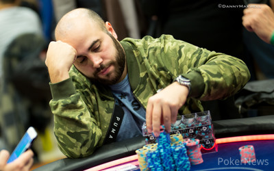 Nicolas Chouity on Top After Day 2 in Prague