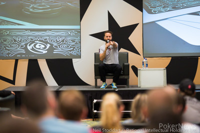 Breakfast Q&A with Daniel Negreanu earlier on Day 1a.