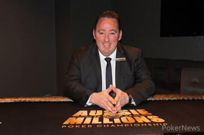 Aussie Millions tournament director Joel Williams
