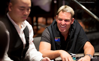 Shane warne poker tournament results crap store locations