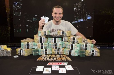 Ami Barer won the Aussie Millions Main Event in 2014 for AUD$1,600,000