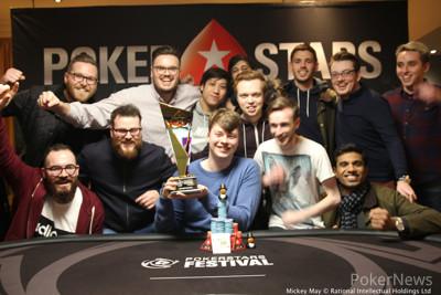 Joe Johnson wins the 2017 PokerStars Festival London High Roller